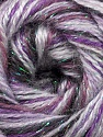 Fiber Content 70% Acrylic, 5% Lurex, 25% Angora, Purple, Lilac Shades, Brand ICE, Yarn Thickness 2 Fine  Sport, Baby, fnt2-36285
