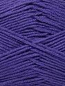 Fiber Content 100% Acrylic, Purple, Brand ICE, Yarn Thickness 2 Fine  Sport, Baby, fnt2-36388