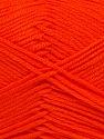 Fiber Content 100% Acrylic, Neon Orange, Brand ICE, Yarn Thickness 2 Fine  Sport, Baby, fnt2-36399