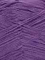 Fiber Content 78% Polyamide, 22% Acrylic, Lavender, Brand ICE, Yarn Thickness 2 Fine  Sport, Baby, fnt2-36422