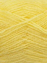 Fiber Content 70% Acrylic, 30% Angora, Light Yellow, Brand Ice Yarns, Yarn Thickness 2 Fine  Sport, Baby, fnt2-36440