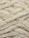 Fiber Content 95% Micro Fiber, 5% Lurex, Brand Ice Yarns, Gold, Cream, Yarn Thickness 5 Bulky  Chunky, Craft, Rug, fnt2-36481