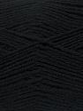 Fiber Content 90% Acrylic, 10% Polyamide, Brand ICE, Black, fnt2-36496