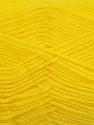 Fiber Content 90% Acrylic, 10% Polyamide, Yellow, Brand ICE, Yarn Thickness 2 Fine  Sport, Baby, fnt2-36504