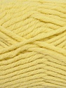 Fiber Content 50% Acrylic, 50% Wool, Light Yellow, Brand ICE, Yarn Thickness 5 Bulky  Chunky, Craft, Rug, fnt2-36513
