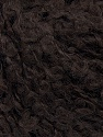 Fiber Content 100% Wool, Brand ICE, Dark Brown, Yarn Thickness 5 Bulky  Chunky, Craft, Rug, fnt2-36534