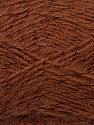 Fiber Content 70% Acrylic, 5% Lurex, 25% Angora, Brand Ice Yarns, Brown, Yarn Thickness 2 Fine  Sport, Baby, fnt2-36548