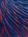 Fiber Content 50% Merino Wool, 25% Acrylic, 25% Alpaca, Red, Purple Shades, Brand ICE, Grey, fnt2-36597