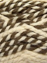 Fiber Content 65% Acrylic, 35% Wool, Brand ICE, Cream, Camel, Yarn Thickness 6 SuperBulky  Bulky, Roving, fnt2-36602