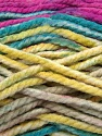 Fiber Content 100% Acrylic, Yellow, Turquoise, Purple, Brand Ice Yarns, Camel, Yarn Thickness 6 SuperBulky  Bulky, Roving, fnt2-36969