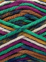 Fiber Content 100% Acrylic, Purple, Brand Ice Yarns, Green, Brown, Blue, Yarn Thickness 6 SuperBulky  Bulky, Roving, fnt2-36970