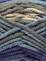 Fiber Content 100% Acrylic, Purple, Light Blue, Brand Ice Yarns, Grey, Yarn Thickness 6 SuperBulky  Bulky, Roving, fnt2-36975