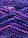 Fiber Content 100% Acrylic, Purple Shades, Brand Ice Yarns, Yarn Thickness 6 SuperBulky  Bulky, Roving, fnt2-36976