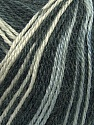 Fiber Content 40% Acrylic, 35% Wool, 25% Alpaca, White, Brand Ice Yarns, Grey Shades, Black, Yarn Thickness 2 Fine  Sport, Baby, fnt2-36979