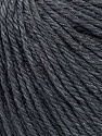 Fiber Content 50% Silk, 30% Merino Superfine, 20% Cashmere, Brand Ice Yarns, Dark Grey, Yarn Thickness 3 Light  DK, Light, Worsted, fnt2-36991