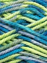 Fiber Content 100% Acrylic, Brand Ice Yarns, Grey, Green, Blue, Yarn Thickness 6 SuperBulky  Bulky, Roving, fnt2-37039