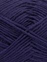 Fiber Content 65% Cotton, 35% Acrylic, Purple, Brand ICE, Yarn Thickness 2 Fine  Sport, Baby, fnt2-37109