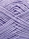 Fiber Content 65% Cotton, 35% Acrylic, Light Lilac, Brand ICE, Yarn Thickness 2 Fine  Sport, Baby, fnt2-37112
