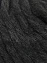 Fiber Content 85% Baby Alpaca, 15% Polyamide, Brand ICE, Anthracite Black, Yarn Thickness 6 SuperBulky  Bulky, Roving, fnt2-37529