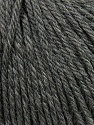 Fiber Content 100% Wool, Brand Ice Yarns, Grey, Yarn Thickness 4 Medium  Worsted, Afghan, Aran, fnt2-37991