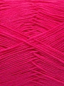 Fiber Content 55% Cotton, 45% Acrylic, Brand Ice Yarns, Fuchsia, Yarn Thickness 1 SuperFine  Sock, Fingering, Baby, fnt2-38674