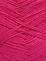 Fiber Content 55% Cotton, 45% Acrylic, Brand Ice Yarns, Dark Pink, Yarn Thickness 1 SuperFine  Sock, Fingering, Baby, fnt2-38675