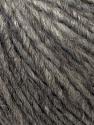 Fiber Content 50% Merino Wool, 25% Alpaca, 25% Acrylic, Brand ICE, Grey, Yarn Thickness 5 Bulky  Chunky, Craft, Rug, fnt2-38969