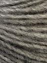 Fiber Content 50% Merino Wool, 25% Acrylic, 25% Alpaca, Brand ICE, Grey, Yarn Thickness 3 Light  DK, Light, Worsted, fnt2-38974