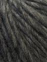 Fiber Content 50% Merino Wool, 25% Alpaca, 25% Acrylic, Brand ICE, Dark Grey, Yarn Thickness 6 SuperBulky  Bulky, Roving, fnt2-38984