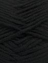 Fiber Content 100% Acrylic, Brand Ice Yarns, Black, Yarn Thickness 5 Bulky  Chunky, Craft, Rug, fnt2-39058