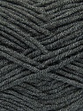 Fiber Content 100% Acrylic, Brand Ice Yarns, Dark Grey, Yarn Thickness 4 Medium  Worsted, Afghan, Aran, fnt2-39077