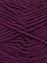 Fiber Content 100% Acrylic, Maroon, Brand Ice Yarns, Yarn Thickness 4 Medium  Worsted, Afghan, Aran, fnt2-39088