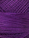 Fiber Content 100% Micro Fiber, Purple, Brand Ice Yarns, Yarn Thickness 0 Lace  Fingering Crochet Thread, fnt2-39154