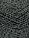 Fiber Content 100% Acrylic, Brand Ice Yarns, Dark Grey, Yarn Thickness 4 Medium  Worsted, Afghan, Aran, fnt2-39381