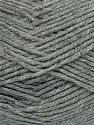 Fiber Content 100% Acrylic, Brand Ice Yarns, Grey, Yarn Thickness 4 Medium  Worsted, Afghan, Aran, fnt2-39382