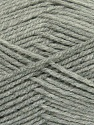 Fiber Content 100% Acrylic, Light Grey, Brand Ice Yarns, Yarn Thickness 4 Medium  Worsted, Afghan, Aran, fnt2-39383