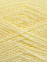 Fiber Content 100% Acrylic, Light Yellow, Brand Ice Yarns, Yarn Thickness 4 Medium  Worsted, Afghan, Aran, fnt2-39388