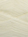 Very thin yarn. It is spinned as two threads. So you will knit as two threads. Yardage information is for only one strand. Fiber Content 100% Acrylic, Brand ICE, Cream, Yarn Thickness 1 SuperFine  Sock, Fingering, Baby, fnt2-39397