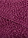 Very thin yarn. It is spinned as two threads. So you will knit as two threads. Yardage information is for only one strand. Fiber Content 100% Acrylic, Orchid, Brand ICE, Yarn Thickness 1 SuperFine  Sock, Fingering, Baby, fnt2-39404
