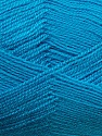 Very thin yarn. It is spinned as two threads. So you will knit as two threads. Yardage information is for only one strand. Fiber Content 100% Acrylic, Brand ICE, Blue, Yarn Thickness 1 SuperFine  Sock, Fingering, Baby, fnt2-39406