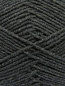 Fiber Content 100% Acrylic, Brand Ice Yarns, Dark Grey, Yarn Thickness 3 Light  DK, Light, Worsted, fnt2-39414
