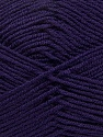 Fiber Content 100% Acrylic, Purple, Brand Ice Yarns, Yarn Thickness 3 Light  DK, Light, Worsted, fnt2-39416
