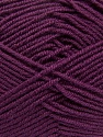 Fiber Content 100% Acrylic, Maroon, Brand Ice Yarns, Yarn Thickness 3 Light  DK, Light, Worsted, fnt2-39417