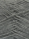 Fiber Content 100% Acrylic, Brand Ice Yarns, Grey, Yarn Thickness 4 Medium  Worsted, Afghan, Aran, fnt2-39472