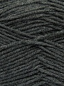 Fiber Content 100% Acrylic, Brand Ice Yarns, Dark Grey, Yarn Thickness 4 Medium  Worsted, Afghan, Aran, fnt2-39473