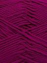 Fiber Content 100% Acrylic, Brand Ice Yarns, Dark Fuchsia, Yarn Thickness 4 Medium  Worsted, Afghan, Aran, fnt2-39479