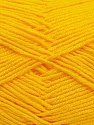 Fiber Content 100% Acrylic, Yellow, Brand Ice Yarns, Yarn Thickness 4 Medium  Worsted, Afghan, Aran, fnt2-39484
