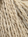Fiber Content 57% Acrylic, 39% Wool, 3% Polyamide, 1% Metallic Lurex, Silver, Brand Ice Yarns, Cream, Beige, Yarn Thickness 4 Medium  Worsted, Afghan, Aran, fnt2-39765