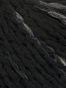 Fiber Content 58% Acrylic, 39% Wool, 3% Polyamide, Brand Ice Yarns, Grey, Black, Yarn Thickness 4 Medium  Worsted, Afghan, Aran, fnt2-39786