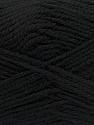 Fiber Content 100% Acrylic, Brand Ice Yarns, Black, Yarn Thickness 2 Fine  Sport, Baby, fnt2-39920